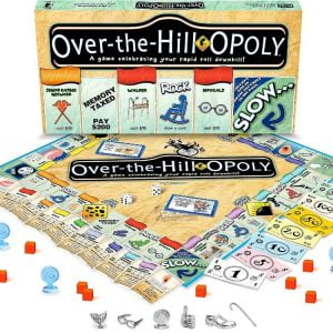 Over the Hill Opoly Board Game