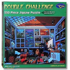 Painters Paradise 550 PC Jigsaw Puzzle