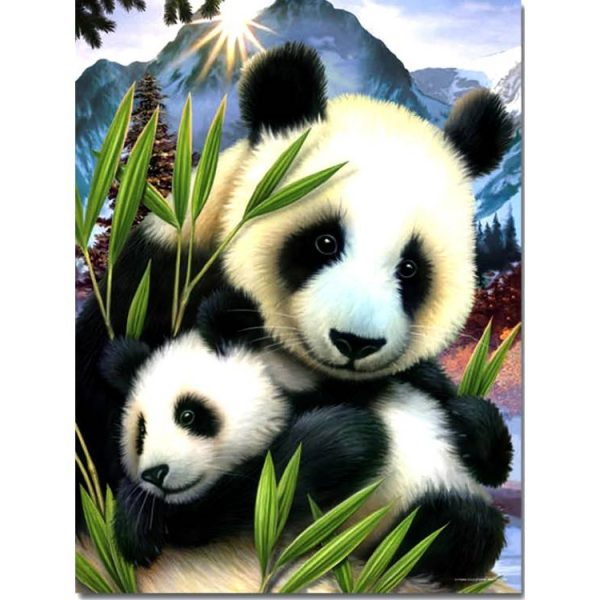 Pandas 300 PC Jigsaw Puzzle
