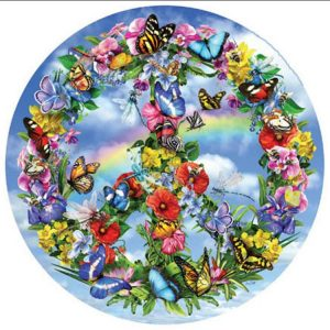 Peaceful Garden 1000 PC Jigsaw Puzzle