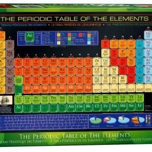 Periodic Table of the Elements 1000 Pc Jigsaw Puzzle