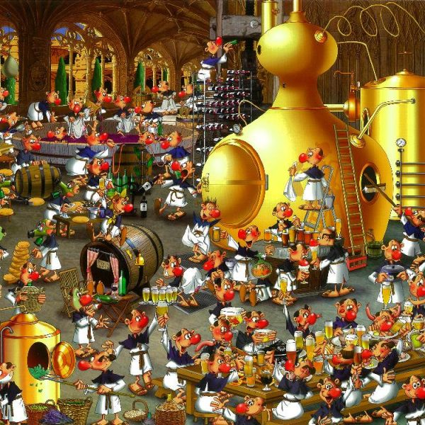 Ruyer, Brewery 1000 PC Jigsaw Puzzle