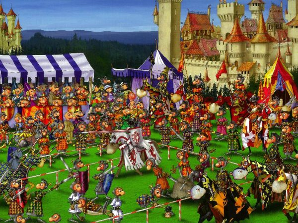 Ruyer, Medieval Joust 1000 PC Jigsaw Puzzle