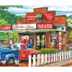 Saturday Morning at the Shop 1000 PC Jigsaw Puzzle