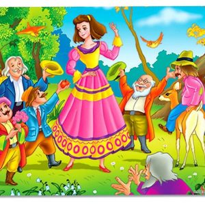 Snow White & the 7 Dwarfs 24 PC Jigsaw Puzzle