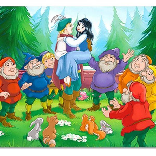 Snow White & the 7 Dwarfs 24 PC Jigsaw Puzzle