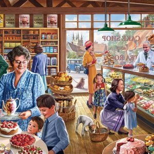 Spoilt for Choice 1000 PC Jigsaw Puzzle