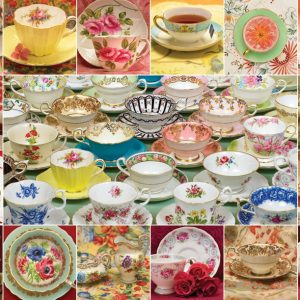 Teacup Collection 2000 PC Jigsaw Puzzle