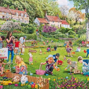 The Easter Egg Hunt 500 PC Jigsaw Puzzle