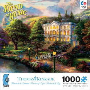 The Sound of Music 1000 PC Jigsaw Puzzle by Thomas Kinkade
