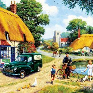 The Village Postman 1000 PC Jigsaw Puzzle
