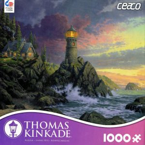 Thomas Kinkade Rock of Salvation 1000 PC Jigsaw Puzzle