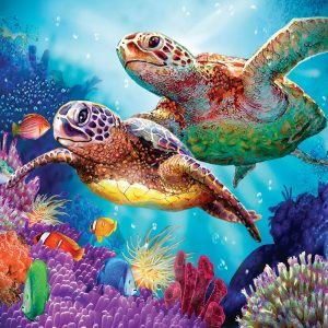Turtle Guardian 1000 PC Jigsaw Puzzle