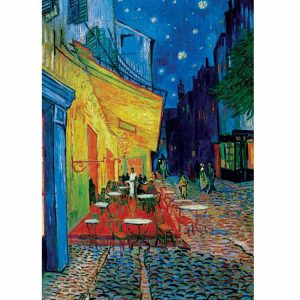 Van Gogh, Terrace At Night 1000 PC Jigsaw Puzzle