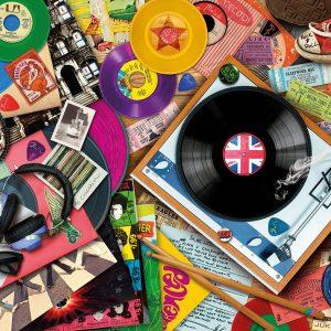 Vinyl Revival 1000 PC Jigsaw Puzzle