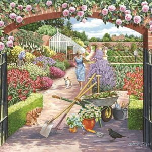Walled Garden 500 PC Jigsaw Puzzle
