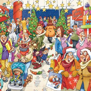Wasgij XMAS 10 - Mystery Shopper 1000 Piece Holdson Puzzle