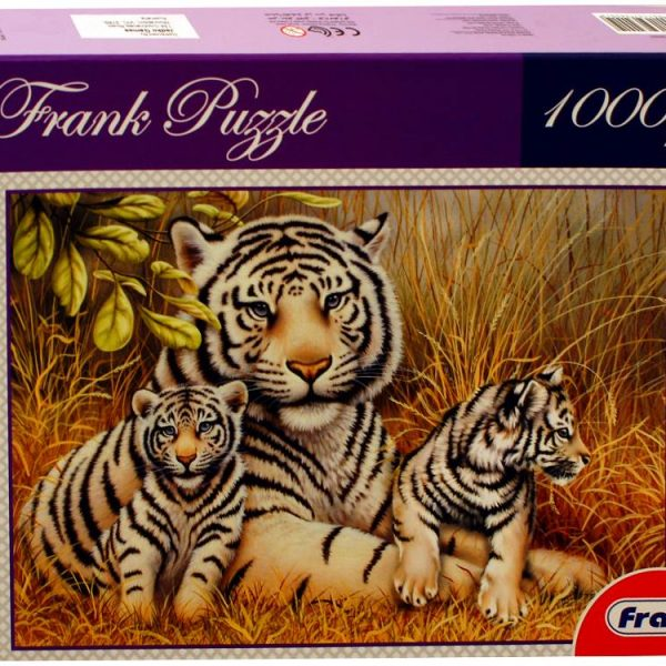 White Tiger 1000 PC Jigsaw Puzzle
