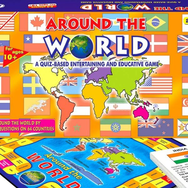 Around The World Board Game By Frank Educational - Countries of the world game