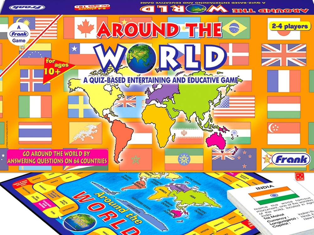 how to play where in the world board game