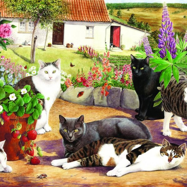 Cool Cats LGE PC Jigsaw Puzzle