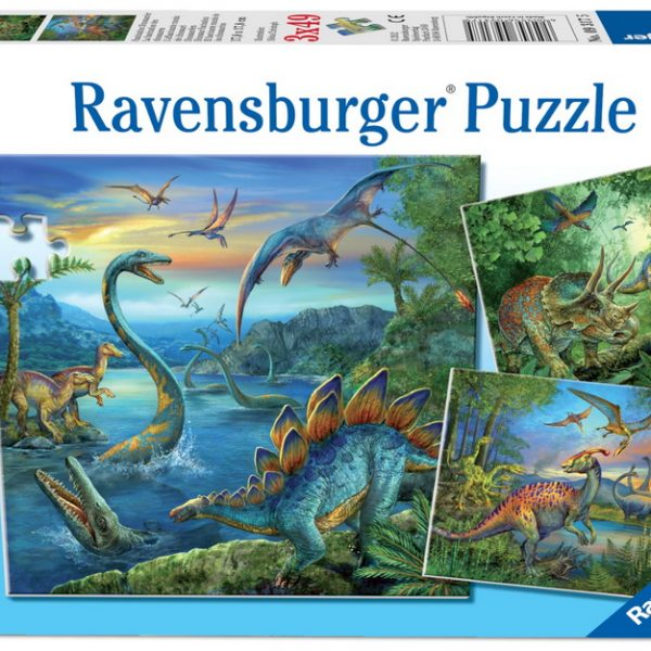 dinosaur-fascination-3-x-49-pc-jigsaw-puzzle