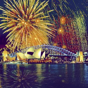 Fireworks over Sydney 2000 PC Jigsaw Puzzle