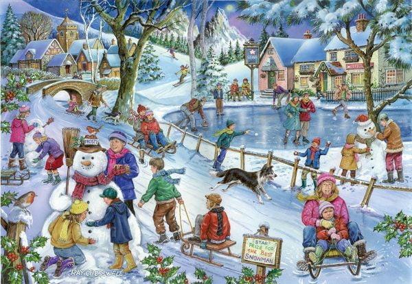 Frosty & Friends 1000 PC Jigsaw Puzzle