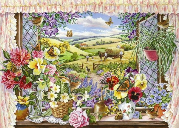 Harvest View 500 LGE PC Jigsaw Puzzle