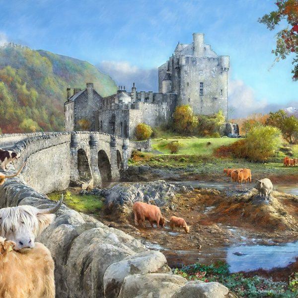 Highland Morning 1000 PC Jigsaw Puzzle