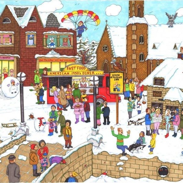 It's Cold Outside 1000 PC Jigsaw Puzzle