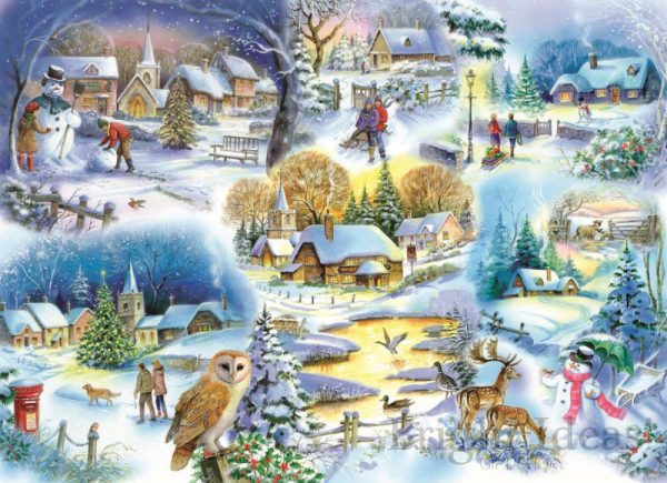 Let it Snow 1000 PC Jigsaw Puzzle
