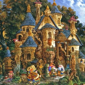 Magical Knowledge College 500 PC Jigsaw Puzzle
