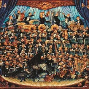 orchestra-fortissimo 1000 PC Jigsaw Puzzle