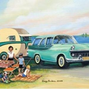 Picnic at Lake Tabourie 1000 PC Jigsaw Puzzle