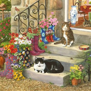 Puss N Boots 500 LGE PC Jigsaw Puzzle