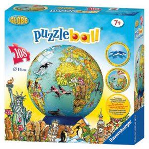 Children's Globe 3D Jigsaw Puzzle ball