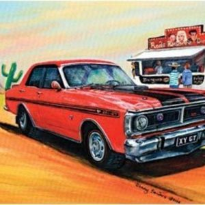 Red Ford 351 1000 P Jigsaw Puzzle