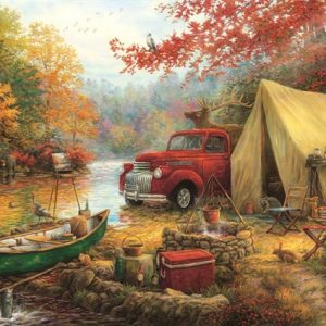 share-the-outdoors 1000 PC Jigsaw Puzzle