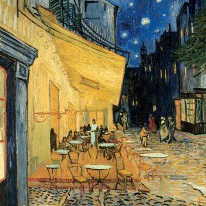 Van Gogh Cafe At Night Puzzle