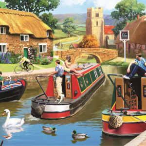 a-busy-time-on-the-canal-1000-pc-jigsaw-puzzle