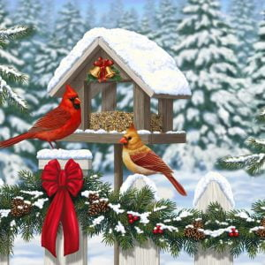 cardinals-at-christmas-lge-format-300-pc-jigsaw-puzzle