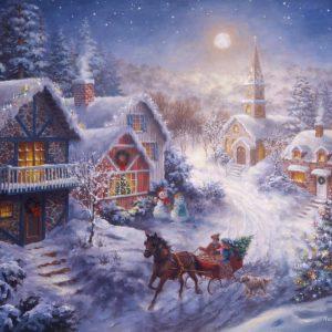 dashing-through-the-snow-300-lge-pc-jigsaw-puzzle