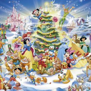 Disney Christmas Magic 100 PC Jigsaw Puzzle