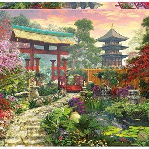 Japan Garden 3000 piece Educa Puzzle