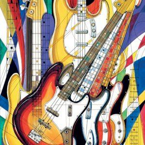 Rock Jazz Bass 500 PC Jigsaw Puzzle