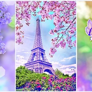 Romantic Spring in Paris 1000 PC Jigsaw Puzzle