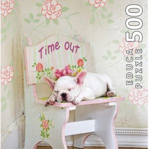 Taking Time Out Lisa Jane 500 PC Jigsaw Puzzle