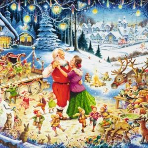 Ultimate Christmas Party Ravensburger 1000 Piece Puzzle