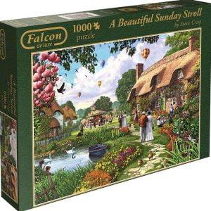 a-beautiful-sunday-stroll-1000-pc-jigsaw-puzzle